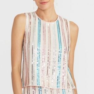 Rachel Roy Addie Sequin Top